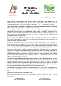 thumbnail of Un_appel_au_dialogue_et_a_la_mediation